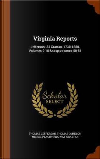 Virginia Reports by Thomas Jefferson