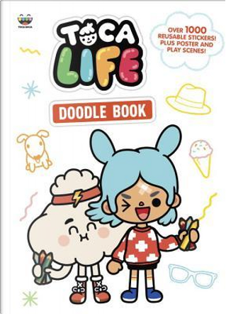 Toca Life Doodle Book by Golden Books Publishing Company