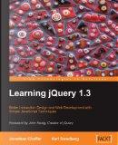Learning jQuery 1.3 by Jonathan Chaffer, Karl Swedberg