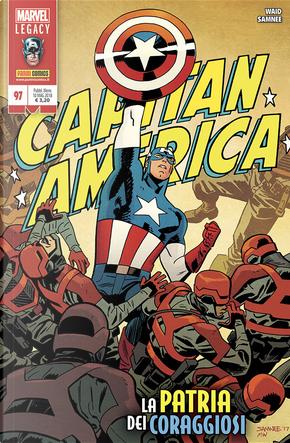 Capitan America 97 by Chris Samnee, Mark Waid