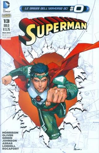 Superman #13 - Variant by Grant Morrison, Michael Green, Mike Johnson, Scott Lobdell