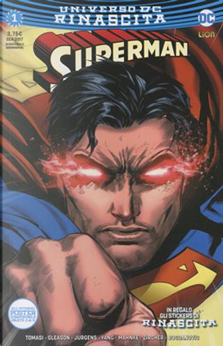 Superman #1 by Dan Jurgens, Gene Luen Yang, Patrick Gleason, Peter J. Tomasi