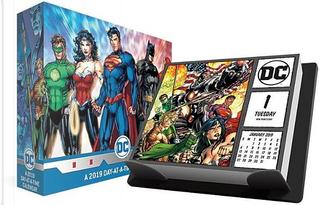 DC Comics 2019 Calendar by Trends International