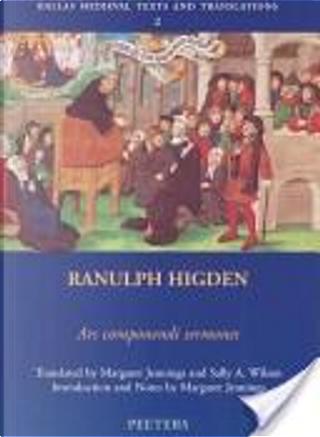 Ars componendi sermones by Ranulf Higden