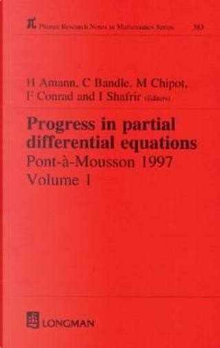 Progress in Partial Differential Equations by Herbert Amann
