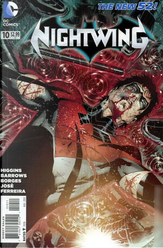 Nightwing Vol.3 #10 by Kyle Higgins