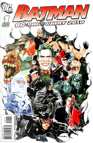 Batman: 80 Page Giant 2010 by Brad Desnoyer, John Stanisci, Mandy MacMurray, Matt Manning, Paul Tobin, Peter Miriani