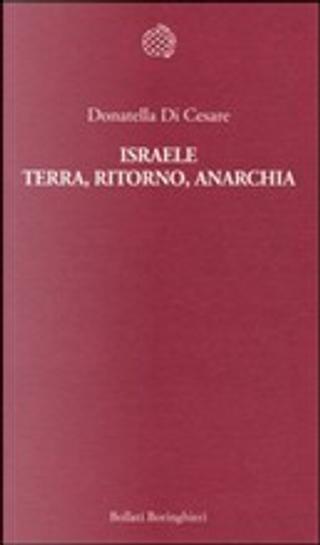 Israele by Donatella Di Cesare