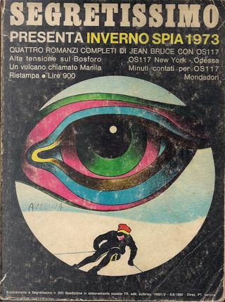 Segretissimo Inverno spia 1973 by Jean Bruce