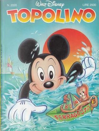 Topolino n. 2020 by Bruno Concina, Giorgio Pezzin, Nino Russo