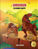 Dinosaur Coloring Sheets by James Manning