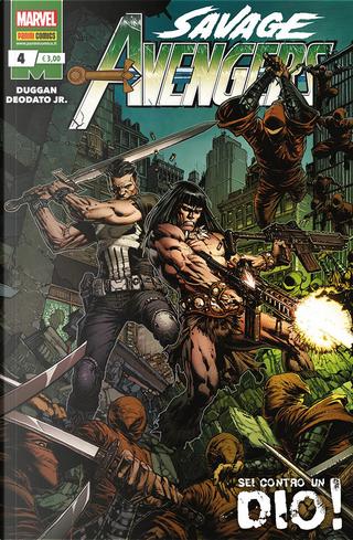 Savage Avengers n. 4 by Gerry Duggan