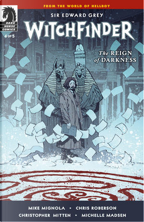 Witchfinder: The Reign of Darkness 4 by Chris Roberson, Mike Mignola