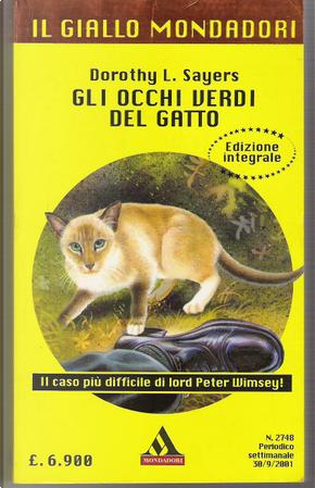 Gli occhi verdi del gatto by Dorothy L. Sayers