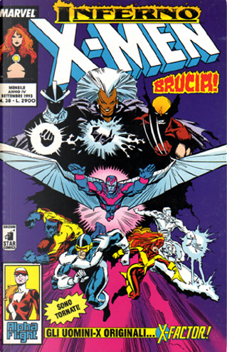 Gli Incredibili X-Men n. 038 by Bill Mantlo, Mary Jo Duffy, Chris Claremont