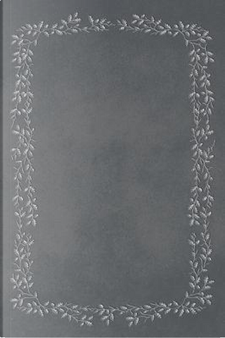 Slate Grey 101 - Blank Notebook With Acorns & Oak Branches - 6x9 by Legacy
