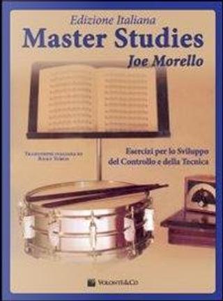 Master studies. Ediz. italiana by Joe Morello