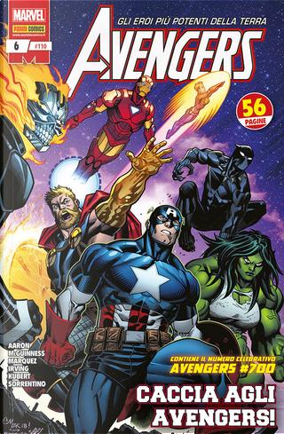 Avengers n. 110 by David Marquez, Ed McGuinness, Jason Aaron