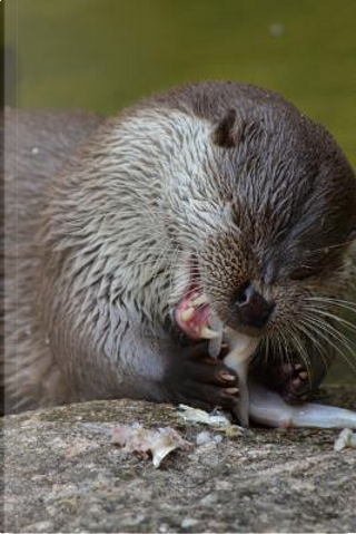 An Otter Having a Snack Journal by Animal Lovers Journal