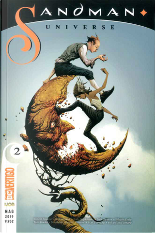 Sandman universe vol. 2 by Dan Watters, Kat Howard, Nalo Hopkinson, Simon Spurrier