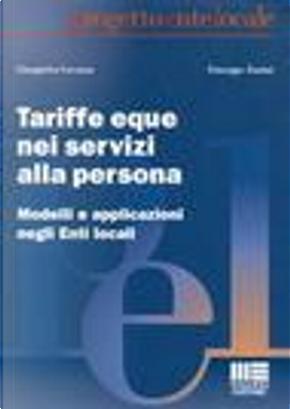 Tariffe eque nei servizi alla persona by Gianpietro Cavazza, Giuseppe Zanini