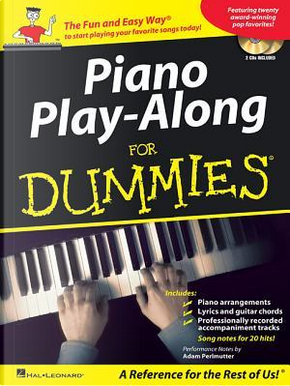 Piano Play-Along for Dummies by Adam Perlmutter