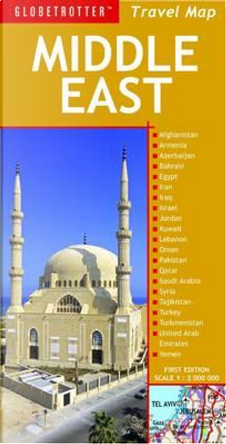 Globetrotter Travel Map Middle East by Globetrotter