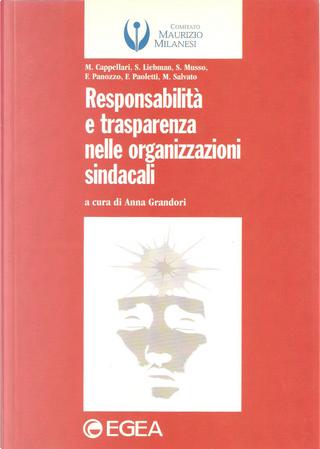 Responsabilità e trasparenza nelle organizzazioni sindacali by