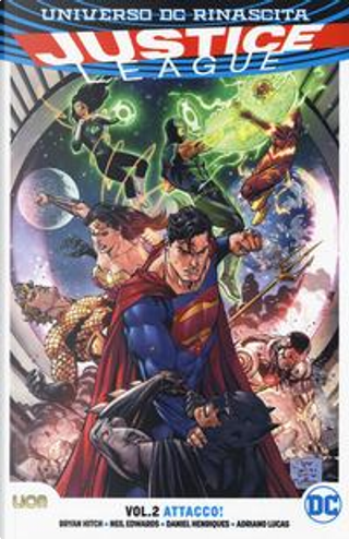 Universo DC Rinascita. Justice League by Bryan Hitch