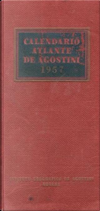 Calendario atlante De Agostini 1957 by Luigi Visintin