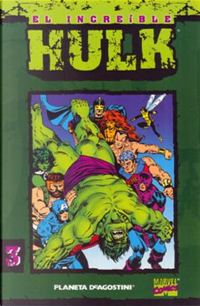 El Increíble Hulk. Coleccionable #3 (de 50) by Al Milgrom