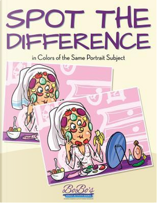 Spot the Difference in Colors of the Same Portrait Subject by Bobo's Adult Activity Books