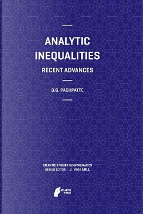 Analytic Inequalities by B. G. Pachpatte