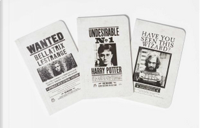 Harry Potter Wanted Posters Pocket Journal Collection by Insight Editions