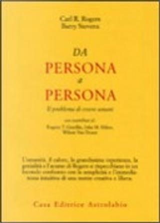 Da persona a persona by Barry Stevens, Carl R. Rogers