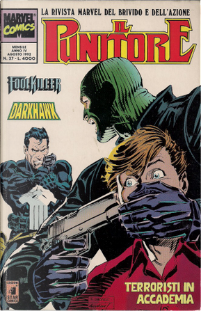 Il Punitore n. 37 by Danny Fingeroth, Mike Baron, Steve Gerber
