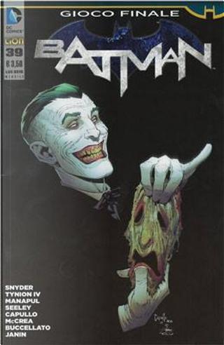 Batman #39 by Brian Buccellato, Francis Manapul, James Tynion IV, Scott Snyder, Tim Seeley, Tom King
