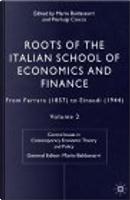 Roots of the Italian School of Economics and Finance, Volume 2