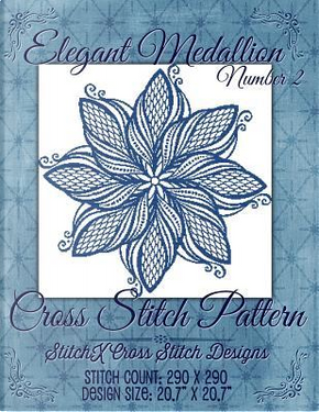 Elegant Medallion 2 Cross Stitch Pattern by Tracy Warrington