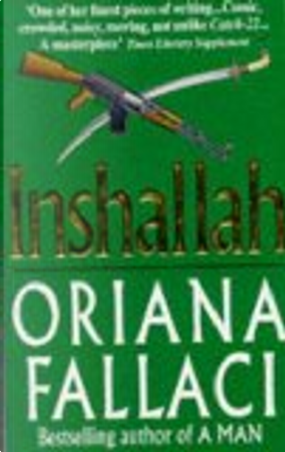 In'shallah by Oriana Fallaci