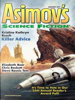 Asimov's Science Fiction, January 2011 by Chris Beckett, Elizabeth Bear, G. O. Clark, Geoffrey A. Landis, Gwendolyn Clare, Ian McHugh, Kristine Kathryn Rusch, Steve Rasnic Tem