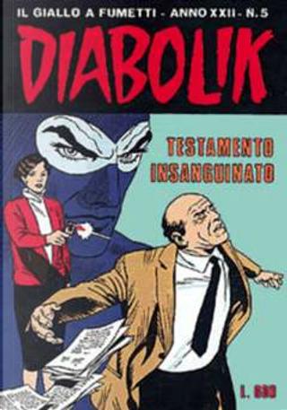 Diabolik anno XXII n. 5 by Angela Giussani, Luciana Giussani