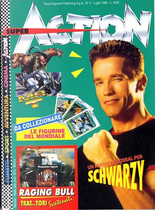 Super Action n. 2, anno I, luglio 1994 by Luca Enoch, Mau Comix