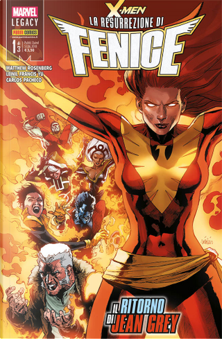 X-Men: La resurrezione di Fenice Vol. 1 by Matthew Rosenberg