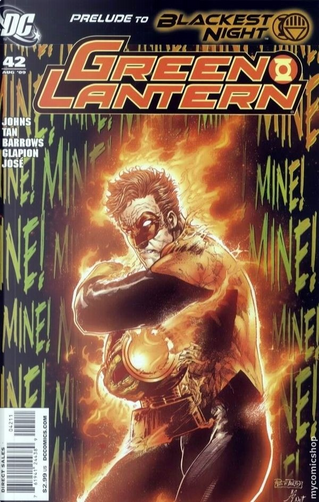 Green Lantern Vol.4 #42 by Geoff Jones