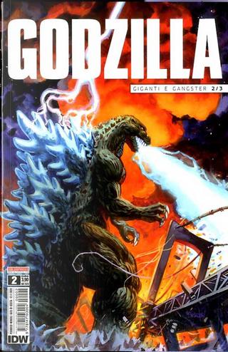Godzilla #2 by John Layman