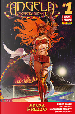 Angela - L'assassina di Asgard #1 by Kieron Gillen, Marguerite Bennett