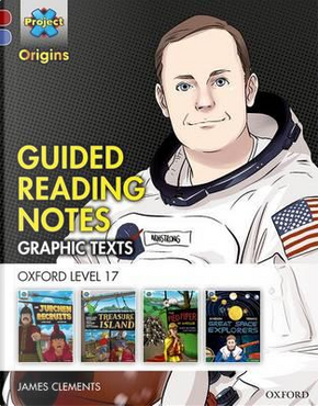 Project X Origins Graphic Texts by James Clements