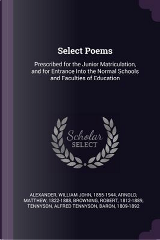 Select Poems by William John Alexander