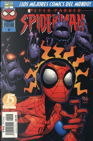 Peter Parker, Spider-Man #8 (de 23) by Howard Mackie, J. M. DeMatteis, Mark Bernardo, Todd DeZago, Tom DeFalco